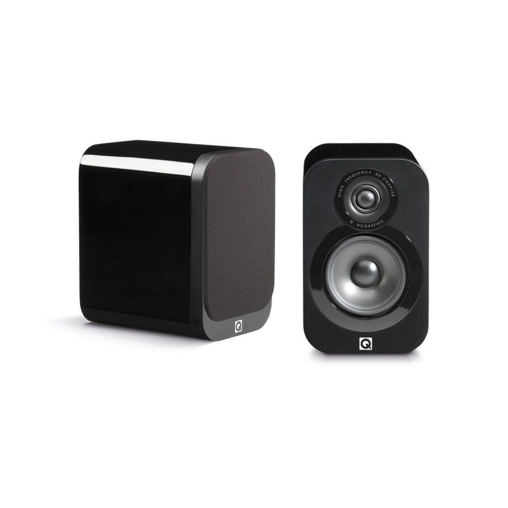 Gloss Black Qacoustics 3010 speaker