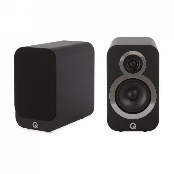 Q Acoustics 3010i Bookshelf Speakers black