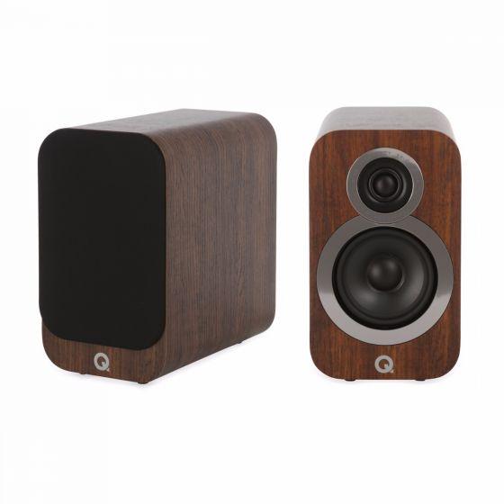 Q Acoustics 3010i bookshelf speakers English Walnut